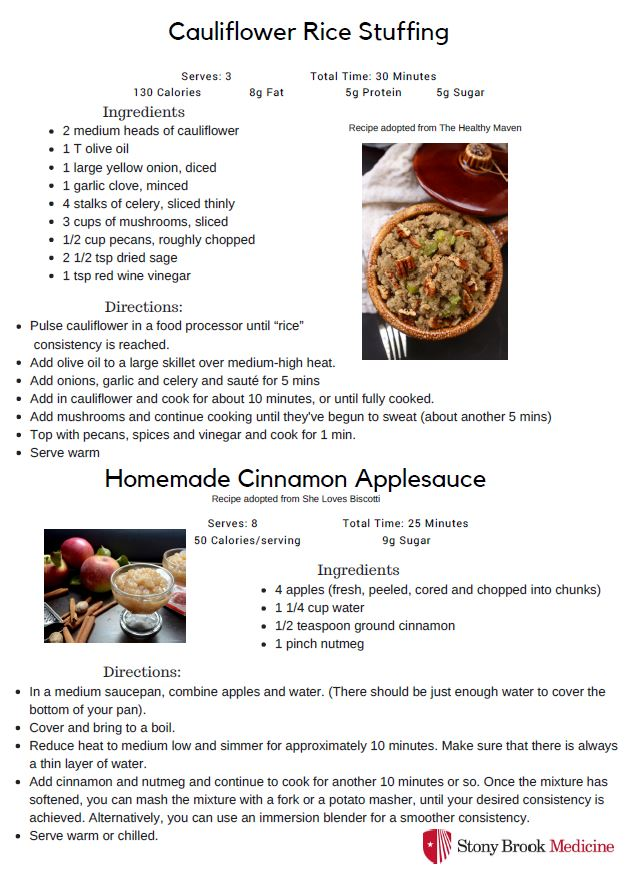 thanksgiving recipe II