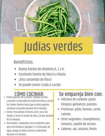 green beans Spanish
